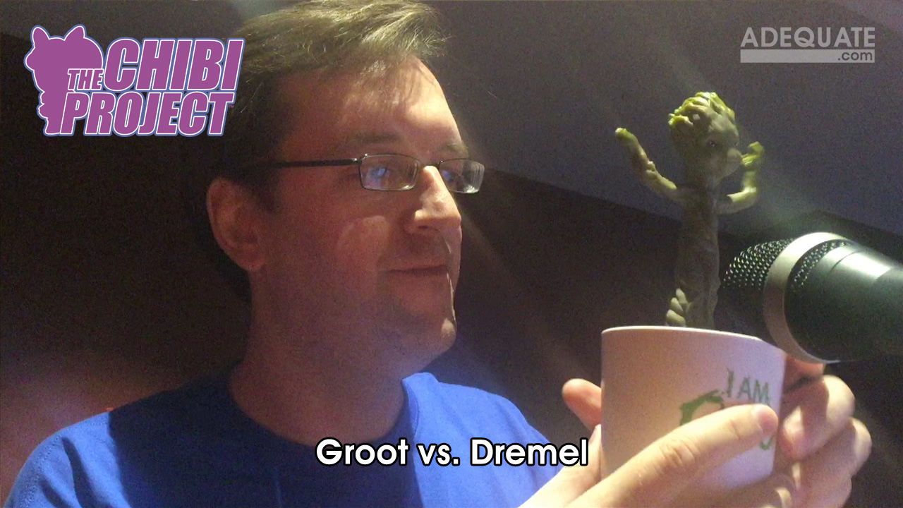 Groot vs. Dremel